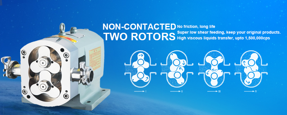 ROTARY LOBE PUMPS for dairy application