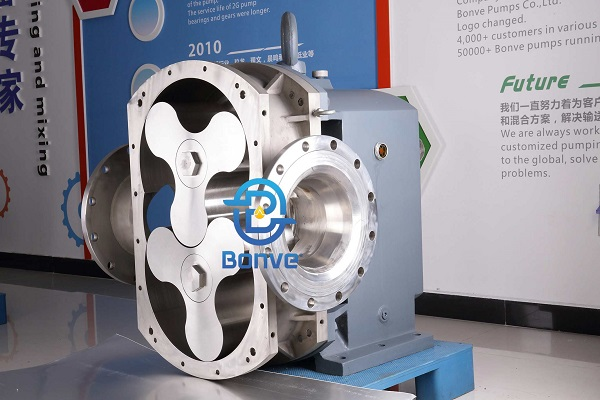 Stainess steel rotary lobe pump