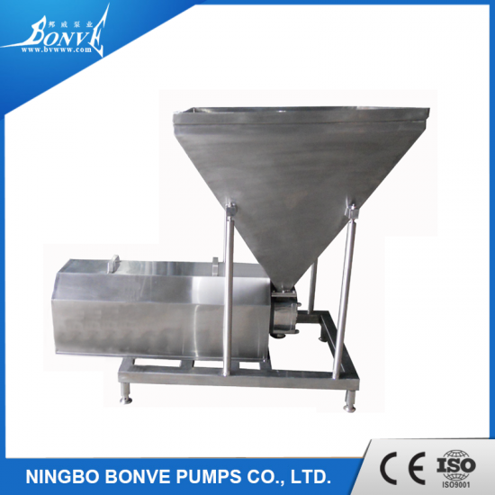 Food grade stainless steel pump